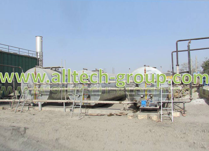 Bitumen storage tank by alltech group, India